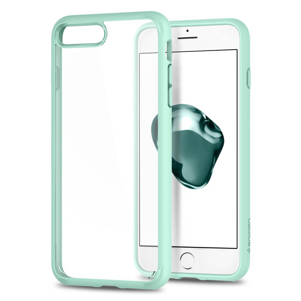 Spigen® Ultra Hybrid™ 2nd Generation 043CS21138 iPhone 7 Plus Case - Mint