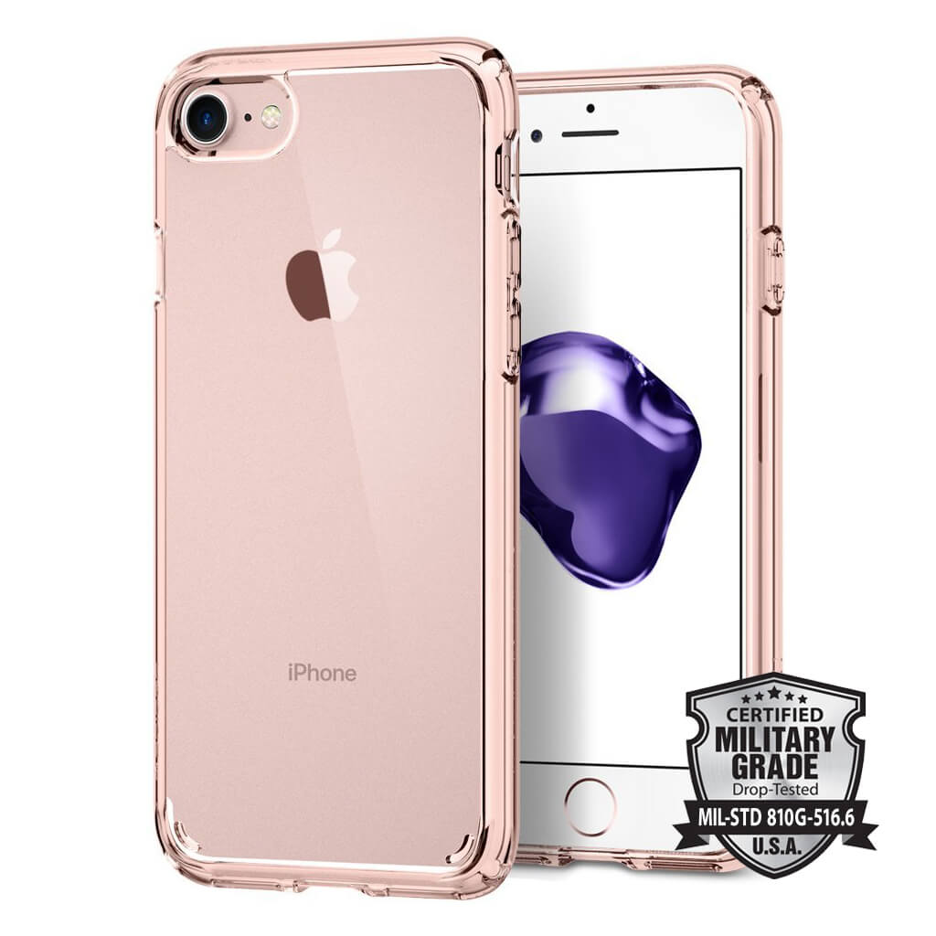 Spigen® Ultra Hybrid™ 2 SGP 042CS20924 iPhone 7 Case - Rose Crystal