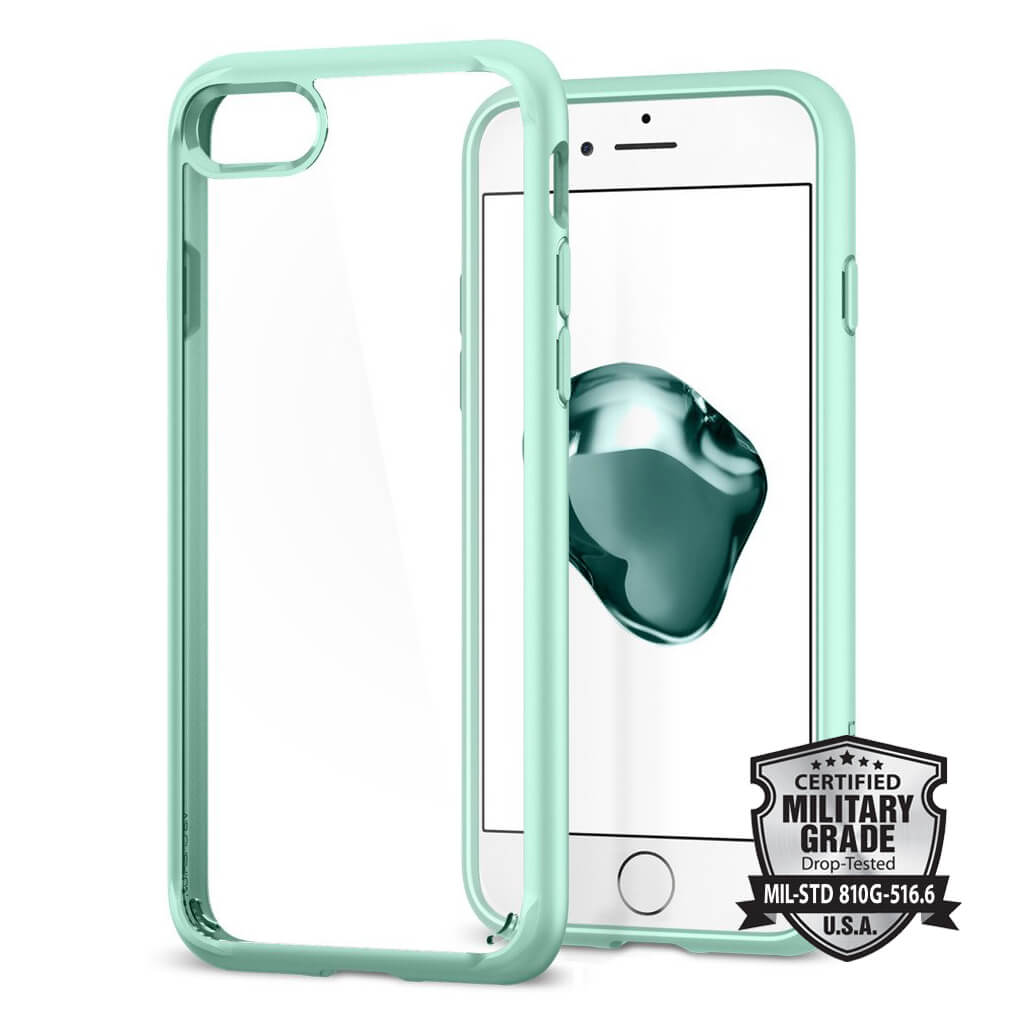 Spigen® Ultra Hybrid™ 2 SGP 042CS20925 iPhone 7 Case - Mint