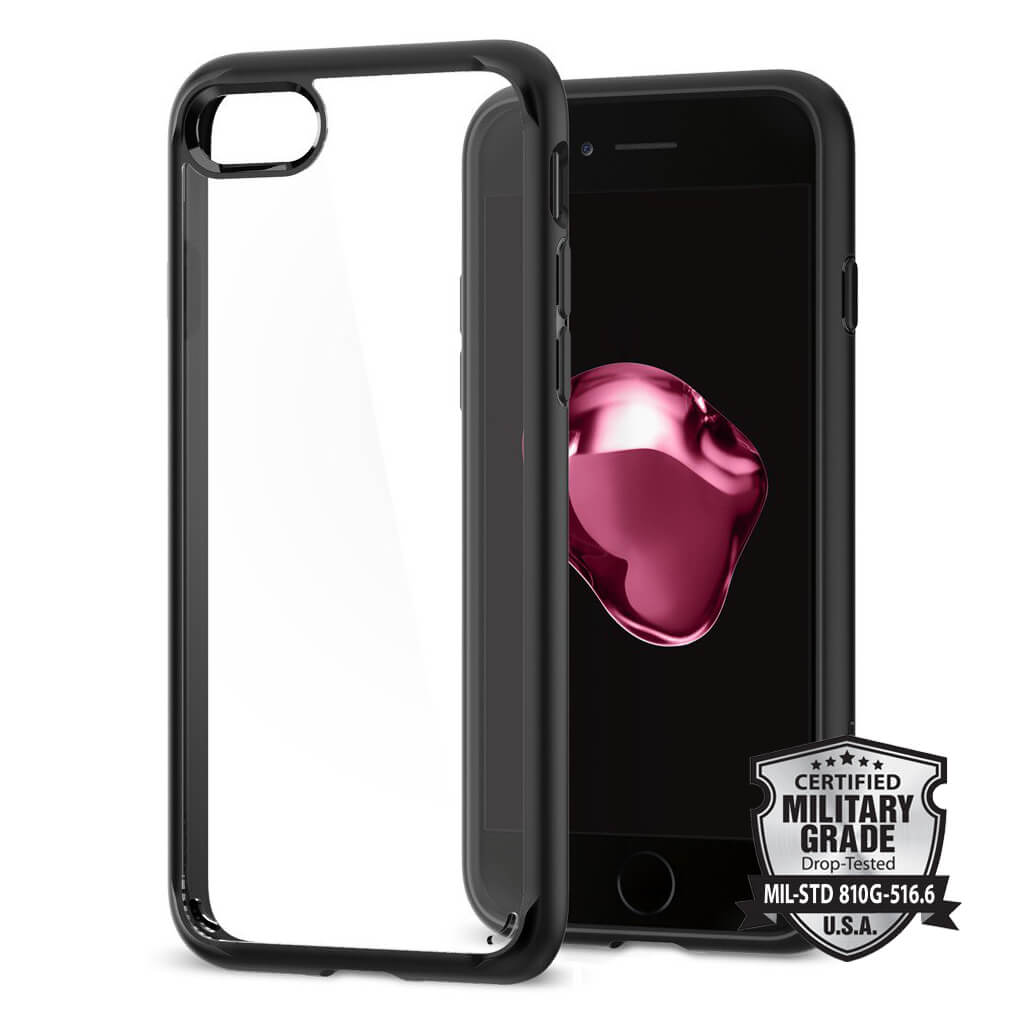 Spigen® Ultra Hybrid™ 2 SGP 042CS20926 iPhone 7 Case - Black