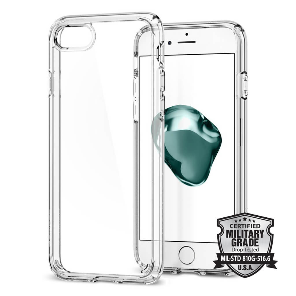Spigen® Ultra Hybrid™ 2 SGP 042CS20927 iPhone 7 Case - Crystal Clear