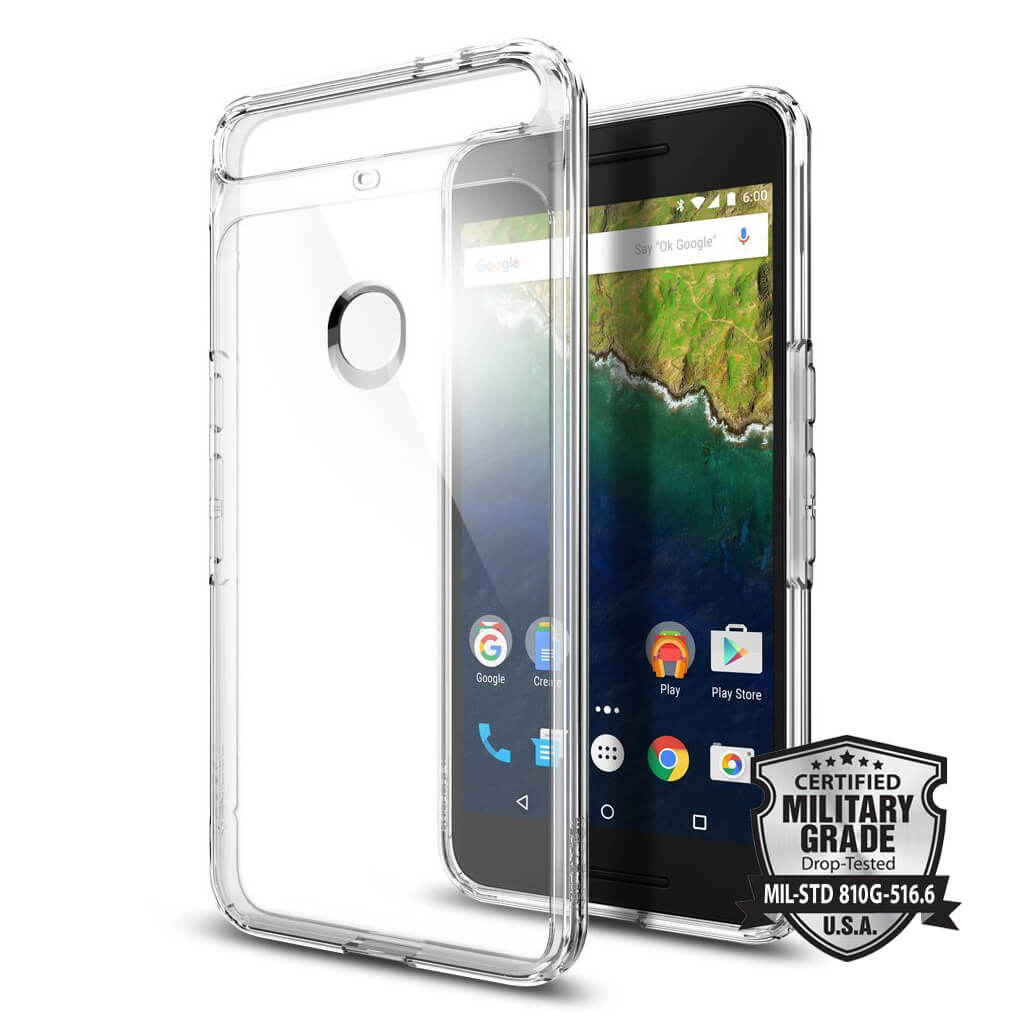Spigen® Ultra Hybrid™ SGP11796 Nexus 6P Case - Crystal Clear