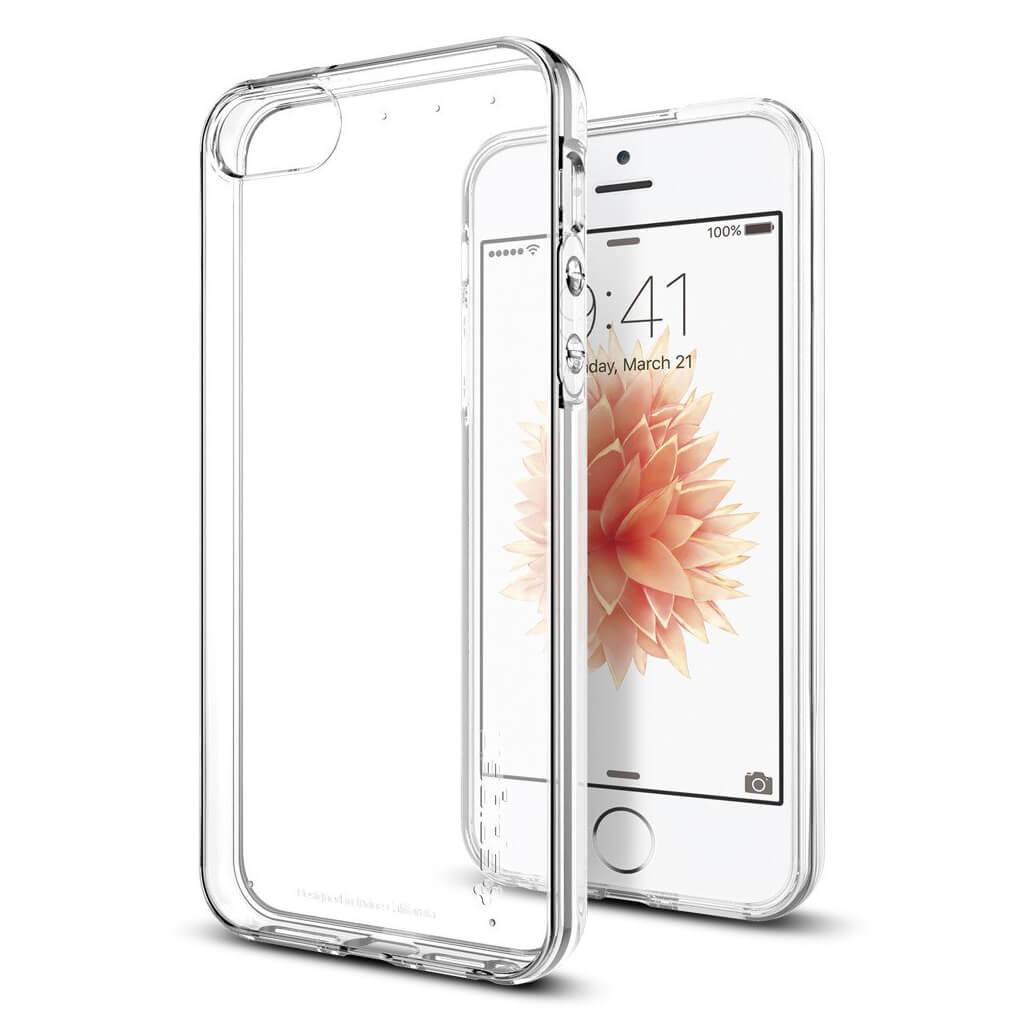 Spigen® Liquid Air Armor 041CS20247 iPhone SE/5s/5 Case - Crystal Clear