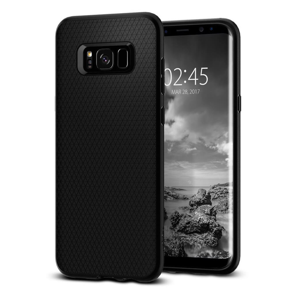 Spigen® Liquid Air Armor 565CS21611 Samsung Galaxy S8 - Black