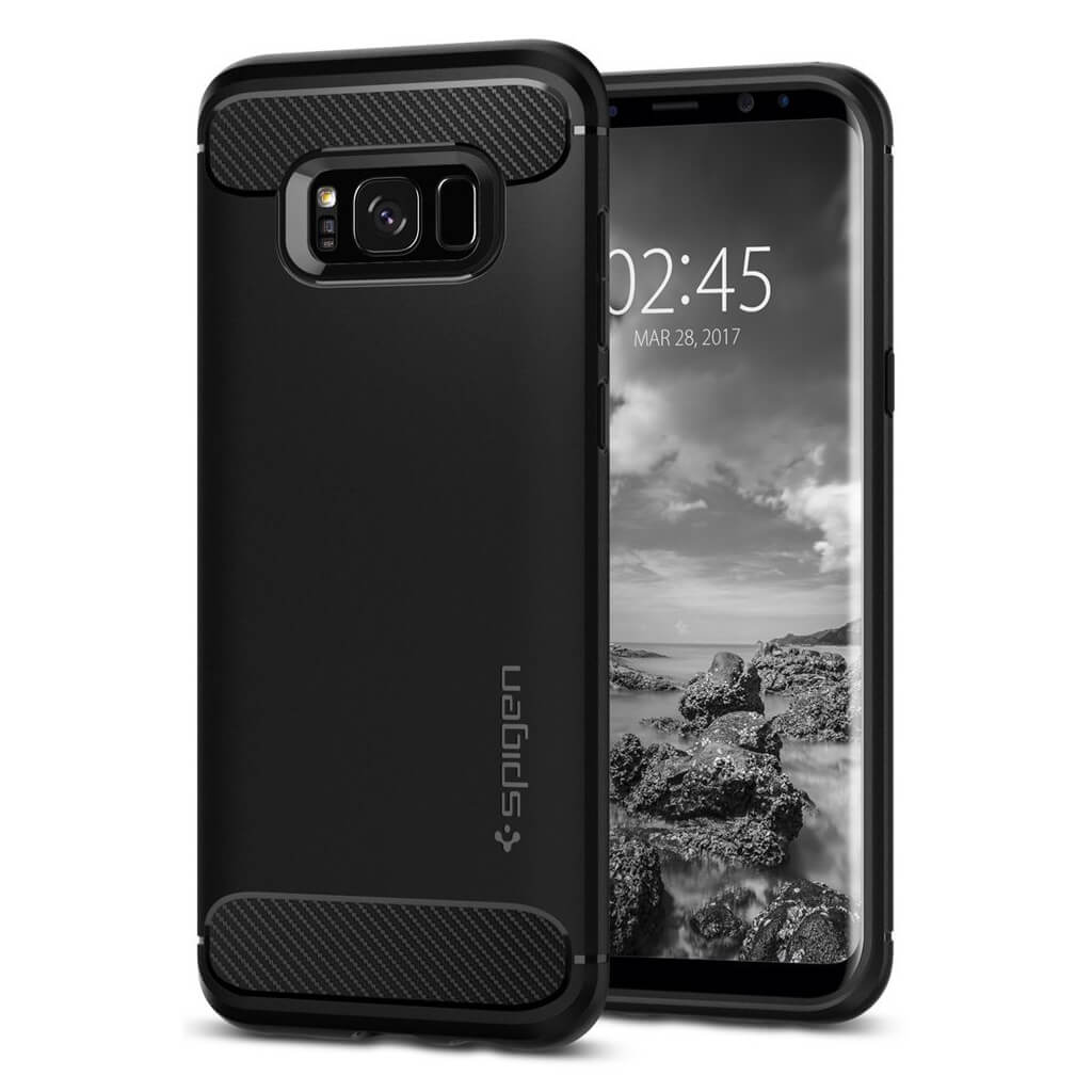 Spigen® Rugged Armor 571CS21661 Samsung Galaxy S8+ Plus - Black