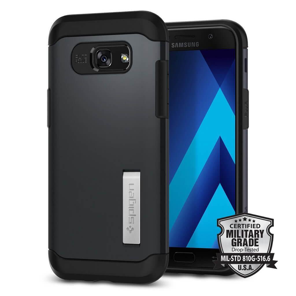 Spigen® Slim Armor 573CS21359 Samsung Galaxy A5 (2017) Case - Metal Slate