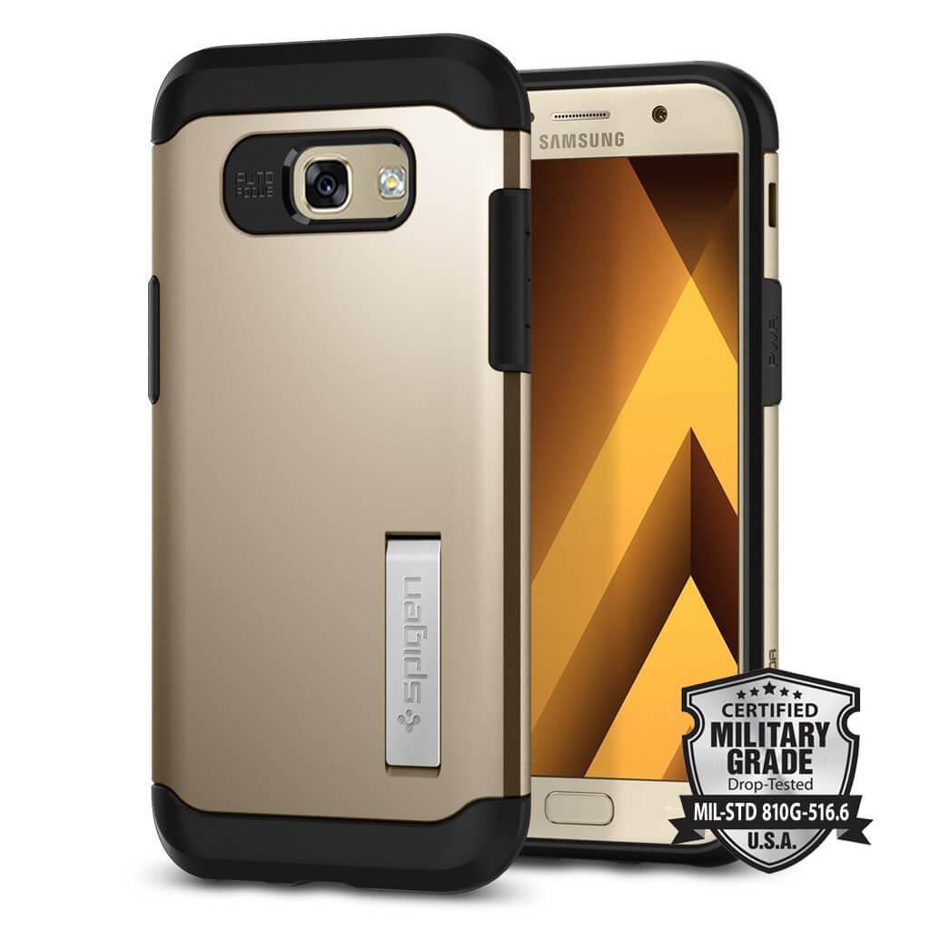 Spigen® Slim Armor 573CS21360 Samsung Galaxy A5 (2017) Case - Champagne Gold