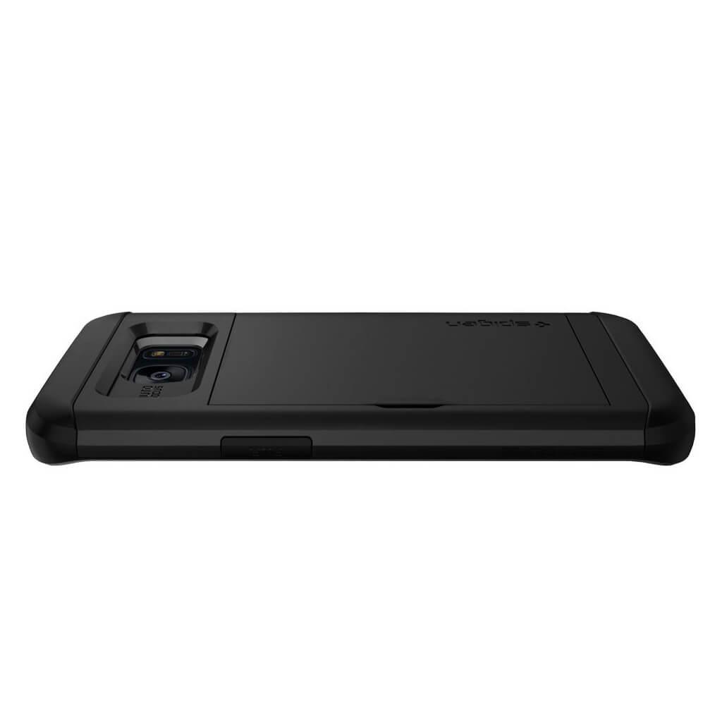 timeless design ef850 756b0 Spigen® Slim Armor CS™ 556CS21156 Samsung Galaxy S7 Edge Case - Black |  spaceboy*