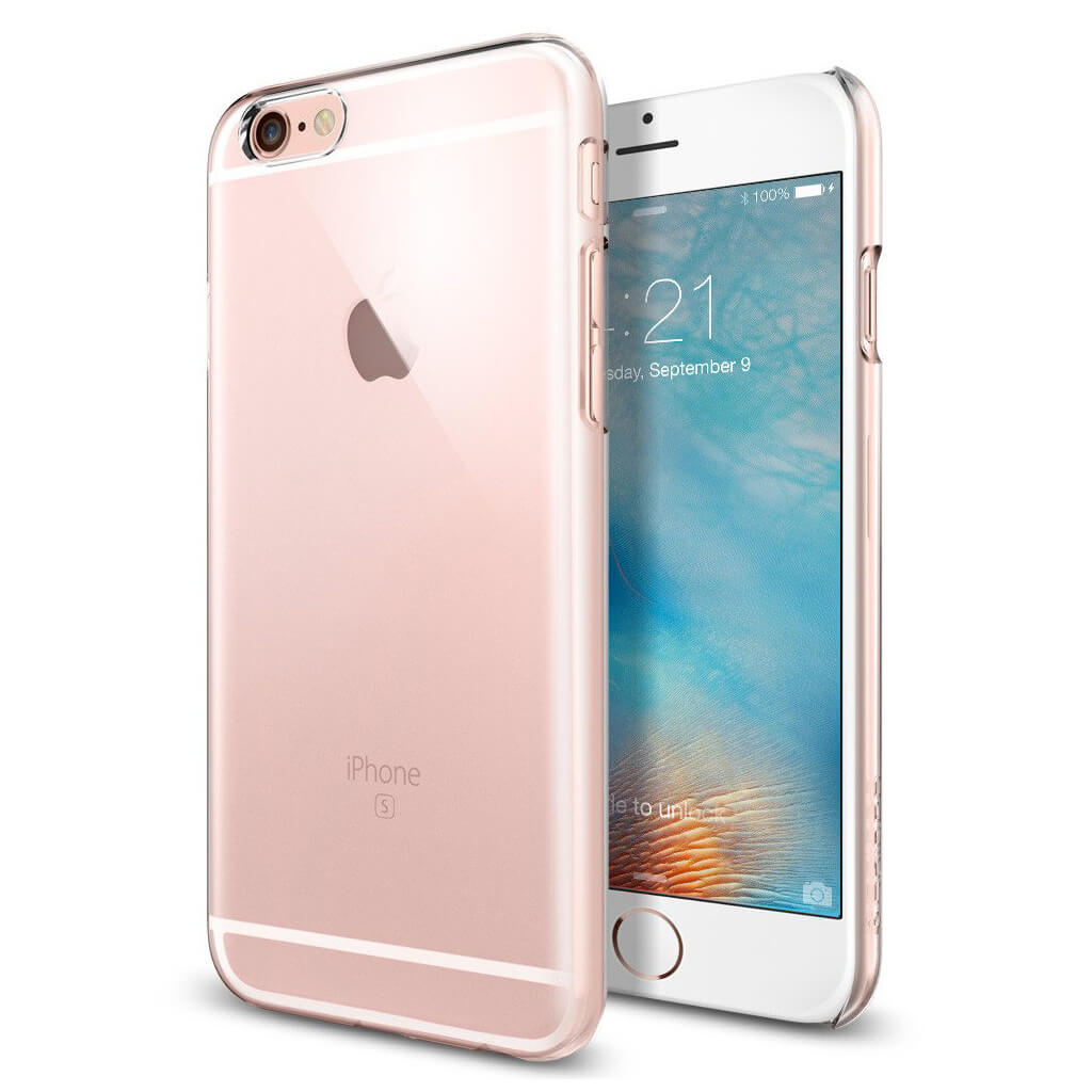 Spigen® Thin Fit SGP11591 iPhone 6s/6 Case - Crystal Clear