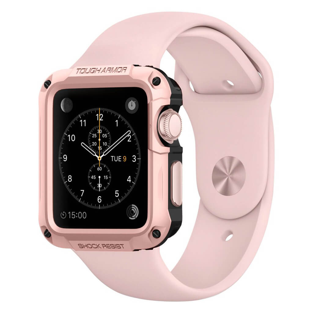 Spigen® Tough Armor 048CS21058 Apple Watch Series 2 & Series 1 (42mm) - Rose Gold