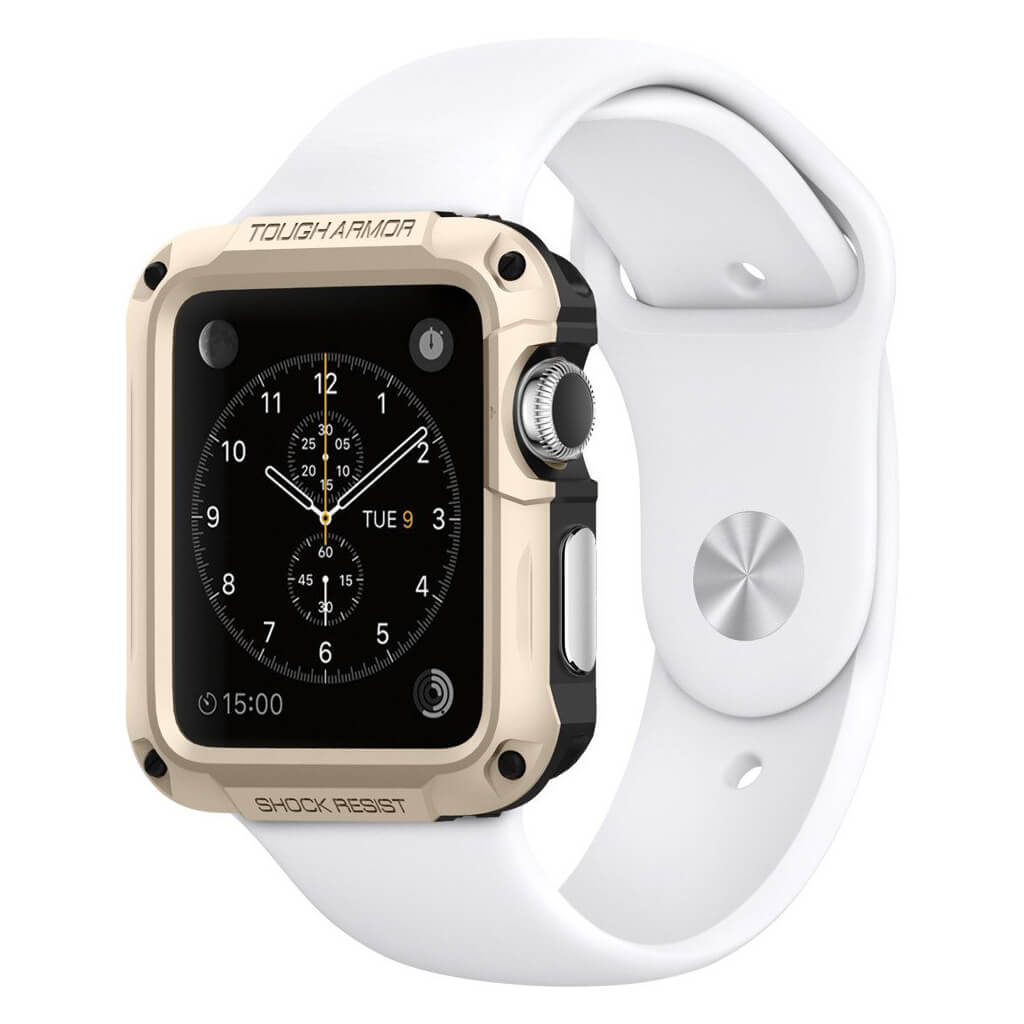 Spigen® Tough Armor 048CS21059 Apple Watch Series 2 & Series 1 (42mm) - Champagne Gold
