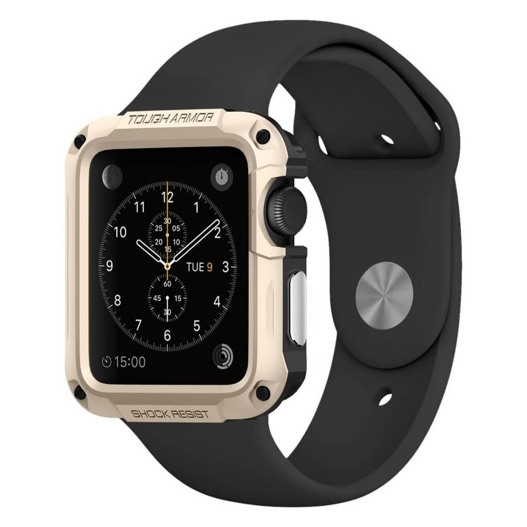 Spigen® Tough Armor 048CS21059 Apple Watch Series 2 & Series 1 (42mm) - Champagne Gold