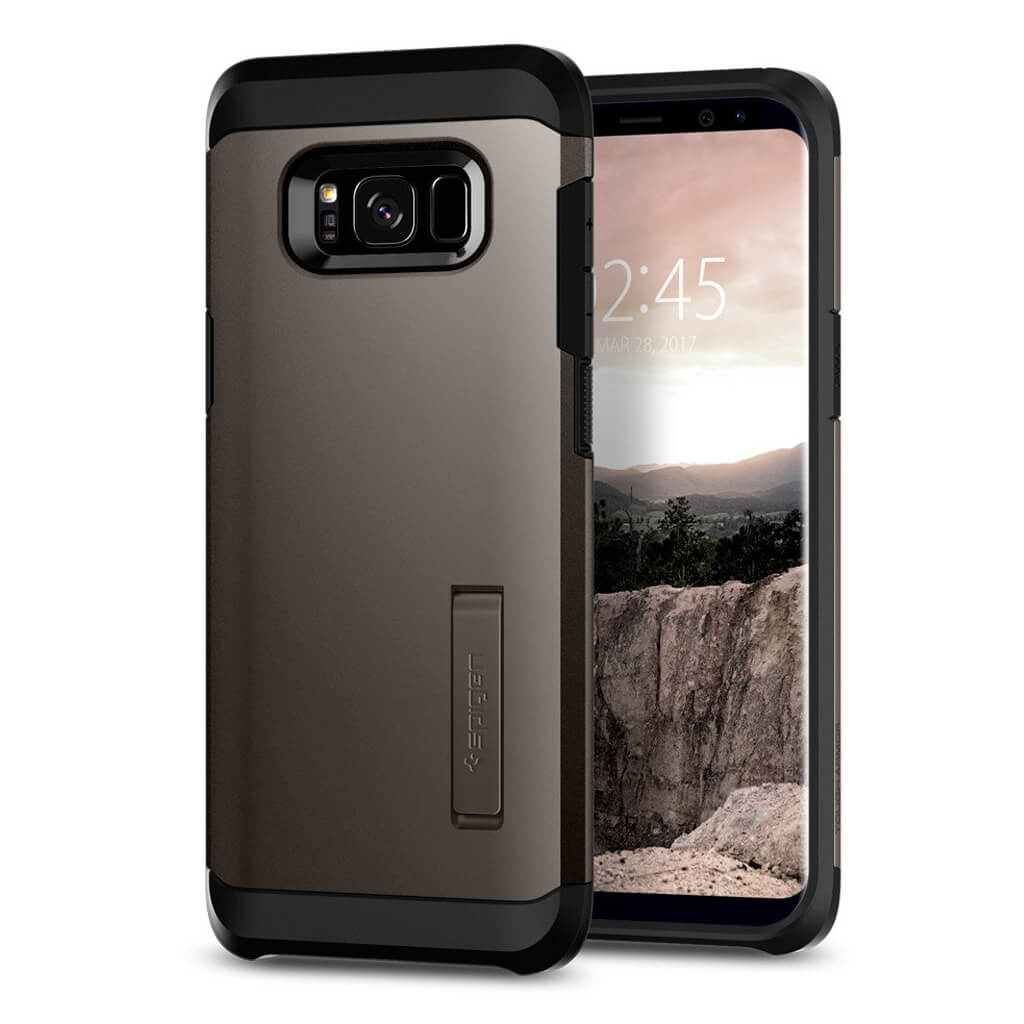 Spigen® Tough Armor 565CS21641 Samsung Galaxy S8 - Gunmetal