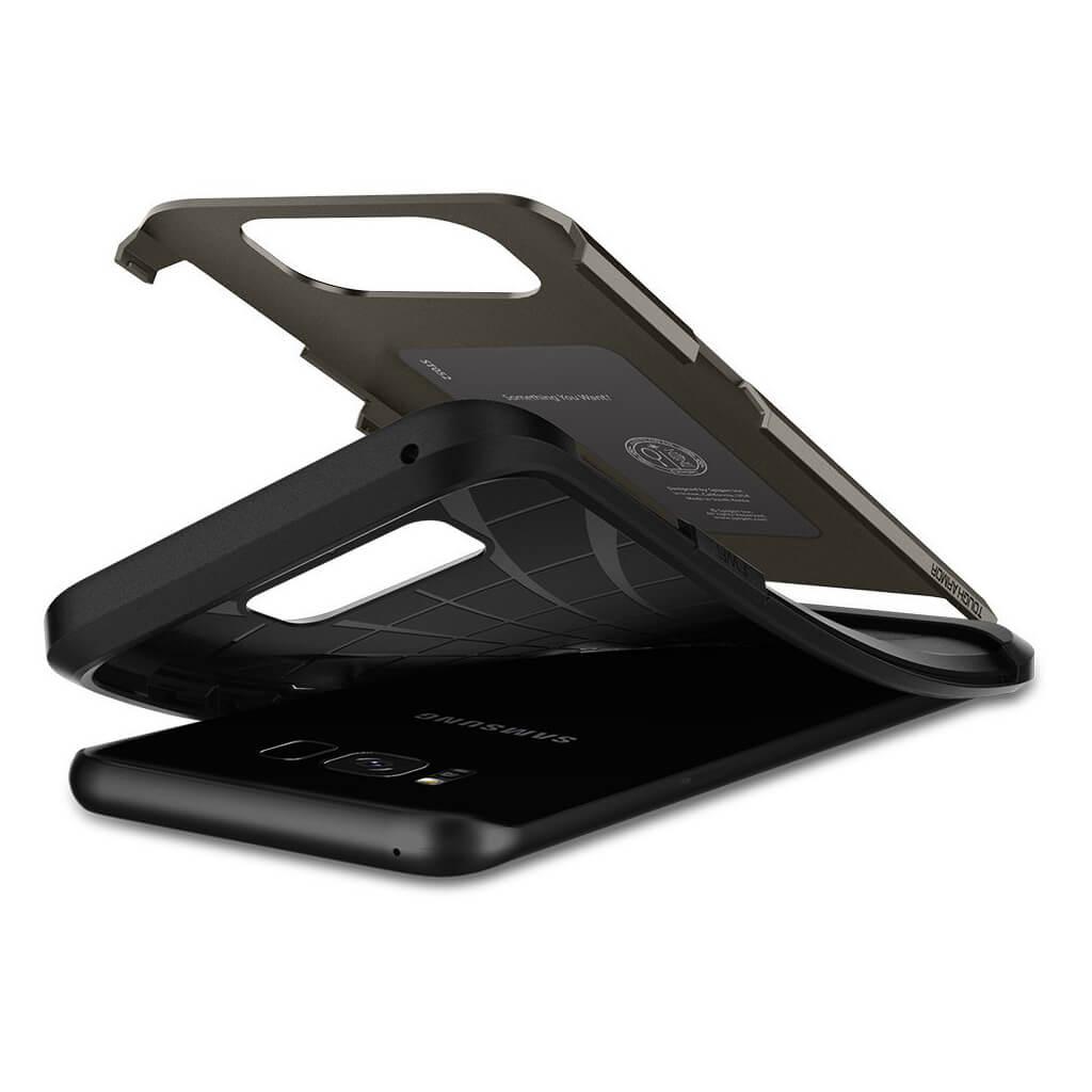 Spigen® Tough Armor 565CS21641 Samsung Galaxy S8 - Gunmetal