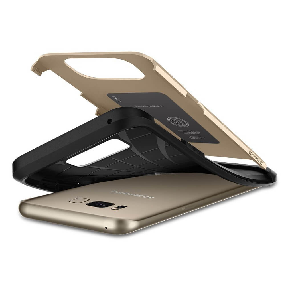 Spigen® Tough Armor 565CS21642 Samsung Galaxy S8 - Gold Maple