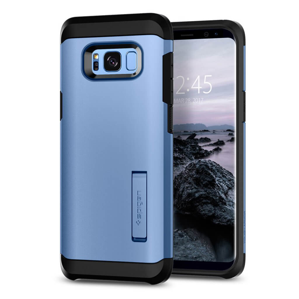 Spigen® Tough Armor 565CS21644 Samsung Galaxy S8 - Blue Coral