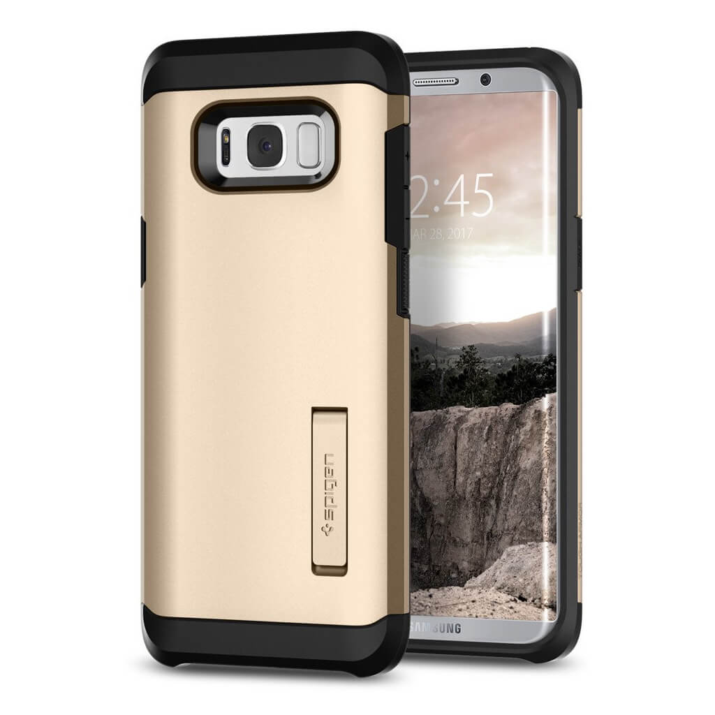Spigen® Tough Armor 571CS21694 Samsung Galaxy S8+ Plus - Gold Maple