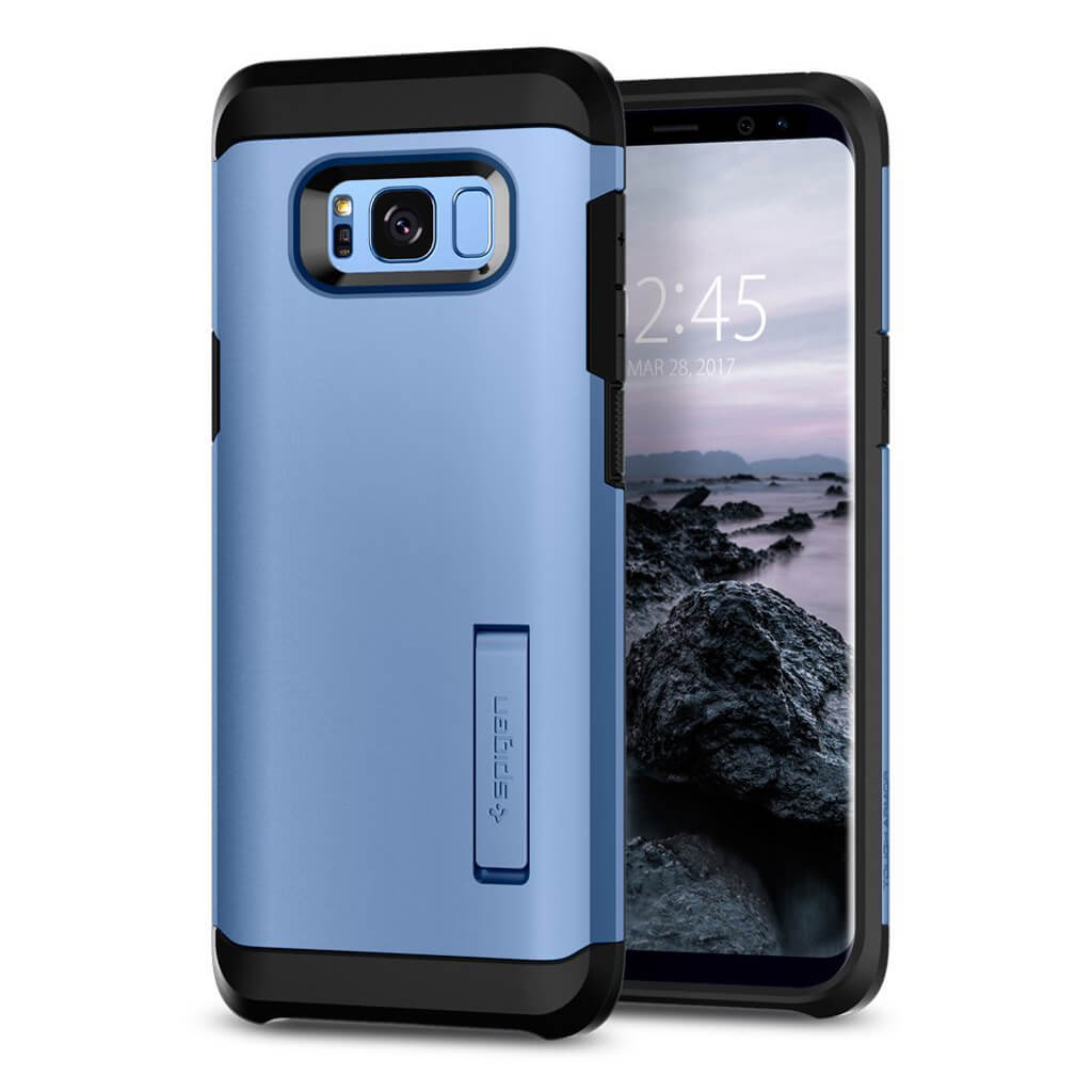 Spigen® Tough Armor 571CS21696 Samsung Galaxy S8+ Plus - Blue Coral
