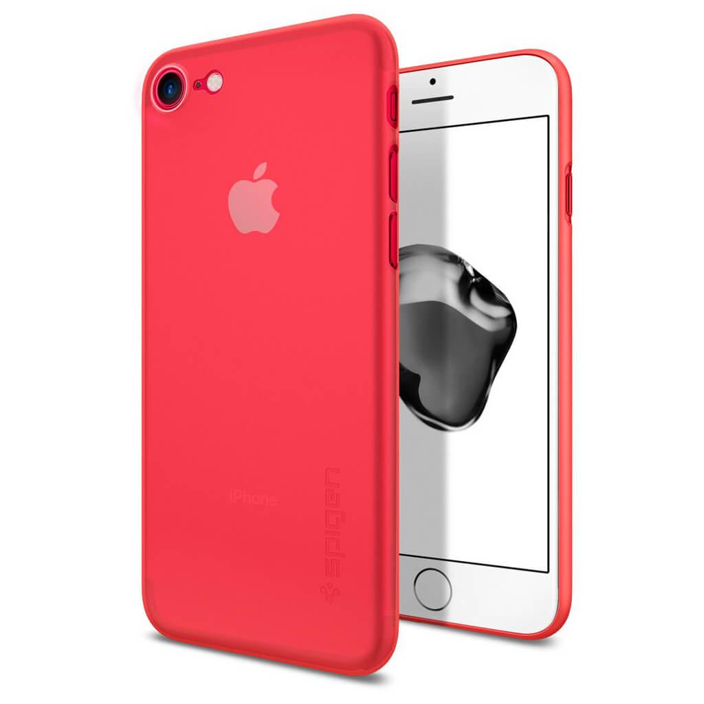 Spigen® AirSkin™ 042CS21722 iPhone 7 Case - Red