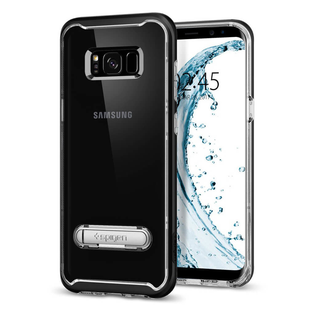 Spigen® Crystal Hybrid™ 565CS20835 Samsung Galaxy S8 Case - Black