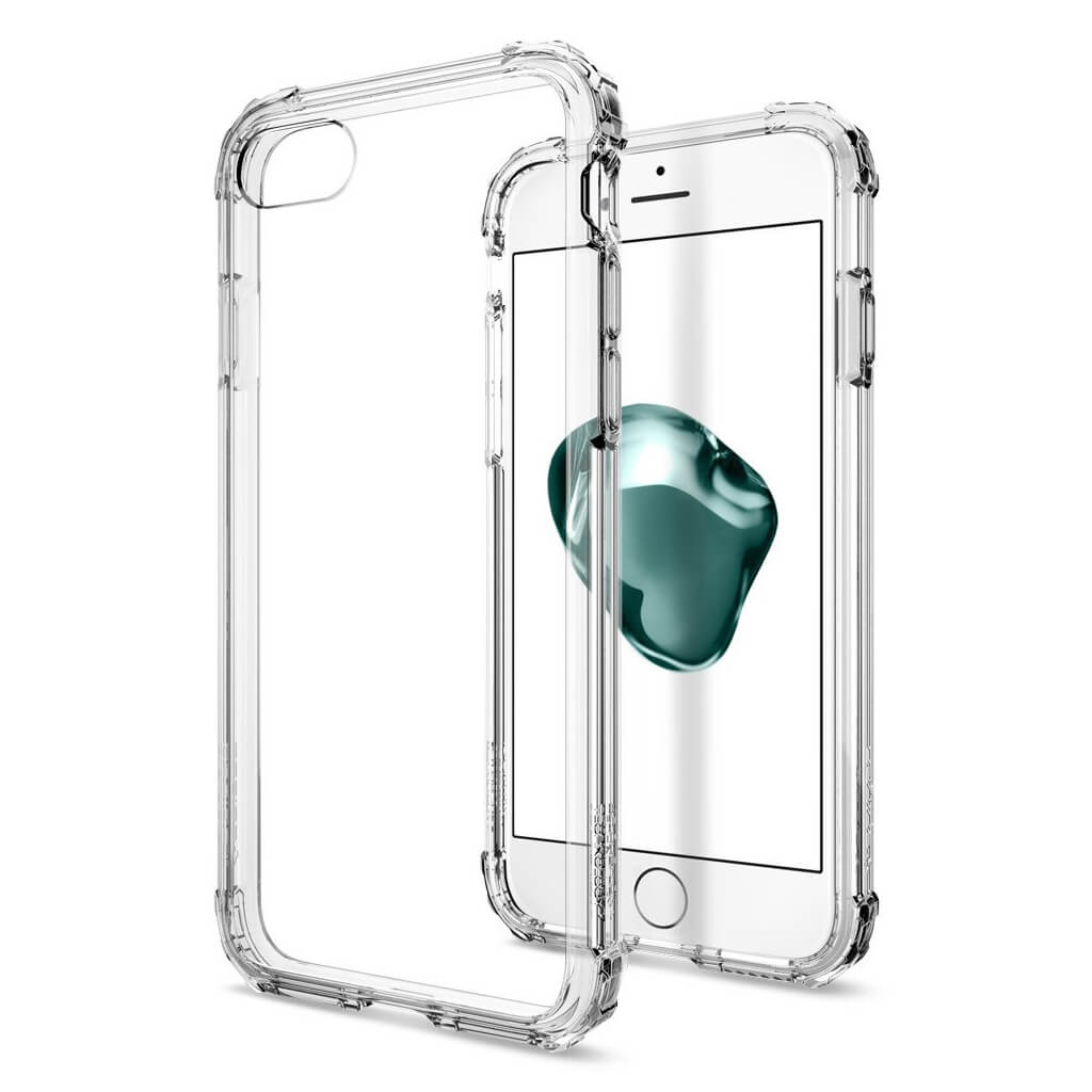 Spigen® Crystal Shell™ 042CS20306 iPhone 7 Case - Crystal Clear