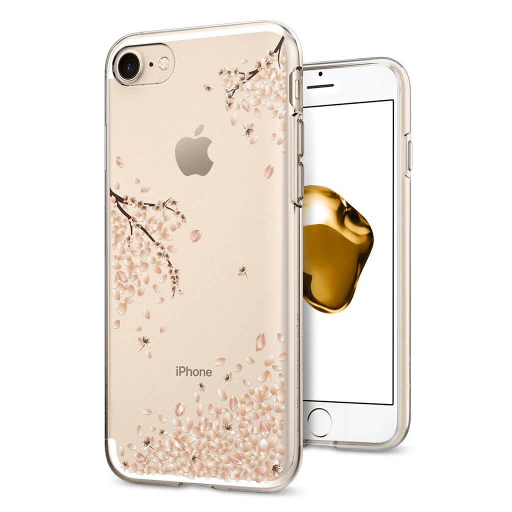 Spigen® Liquid Crystal™ 042CS21220 iPhone 7 Case - Shine Blossom