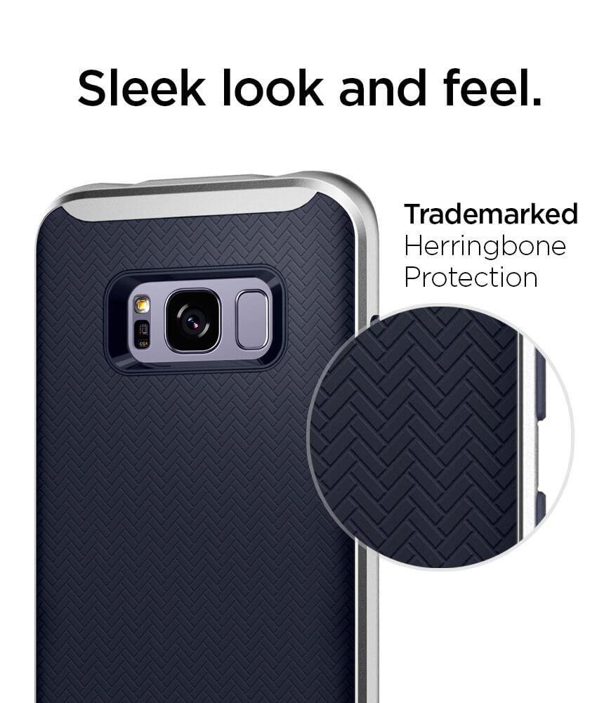 Spigen® Neo Hybrid™ 565CS21600 Samsung Galaxy S8 Case - Silver Arctic