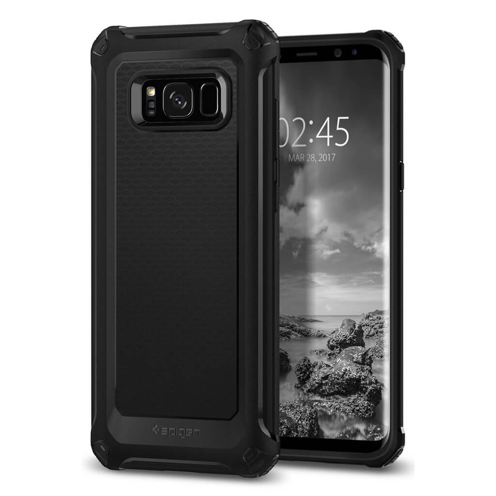 Spigen® Rugged Armor Extra™ 571CS21276 Samsung Galaxy S8+ Plus Case - Black