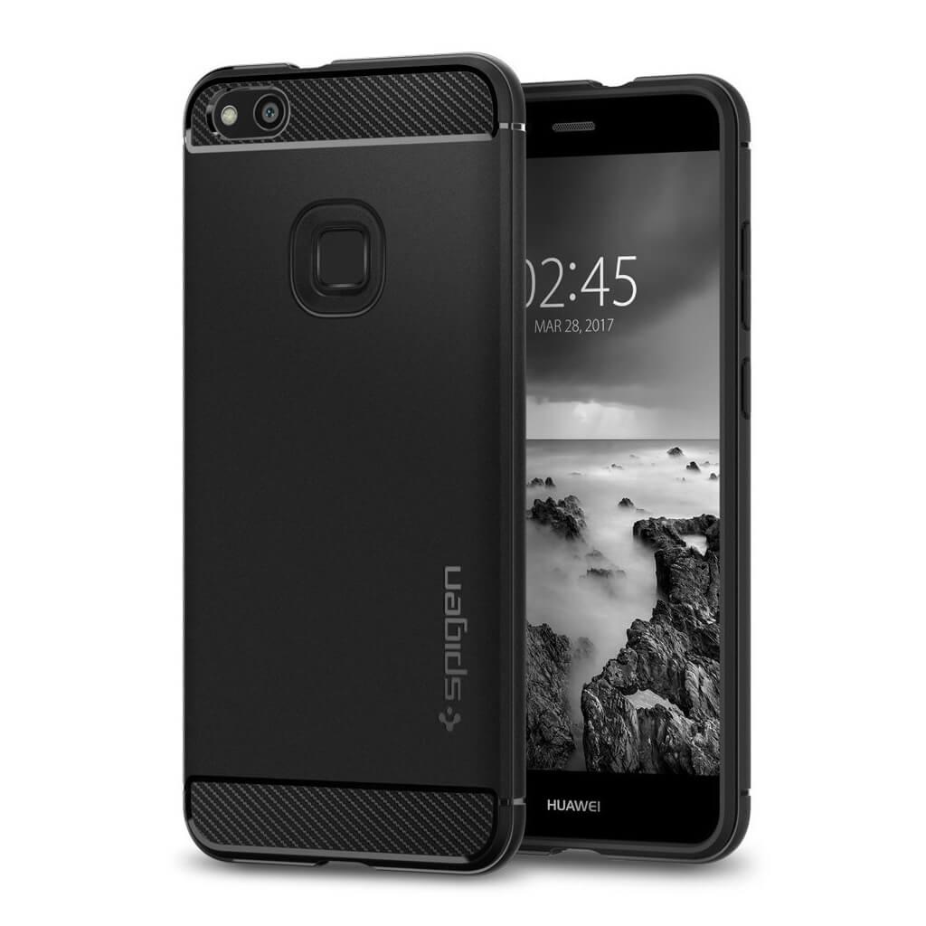 Spigen® Rugged Armor™ L14CS21508 Huawei P10 Lite Case - Black