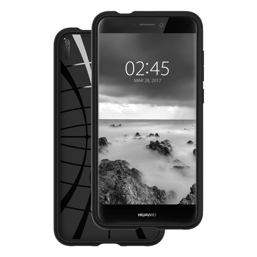 on sale 62c26 a8098 Spigen® Rugged Armor™ L15CS21527 Huawei P8/P9 Lite 2017 Case - Black |  spaceboy*