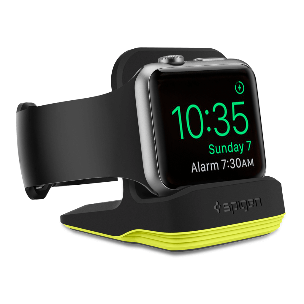 Spigen® S350 000CD21184 Apple Watch Series 2 / Series 1 (42mm / 38mm) Stand - Volt Black