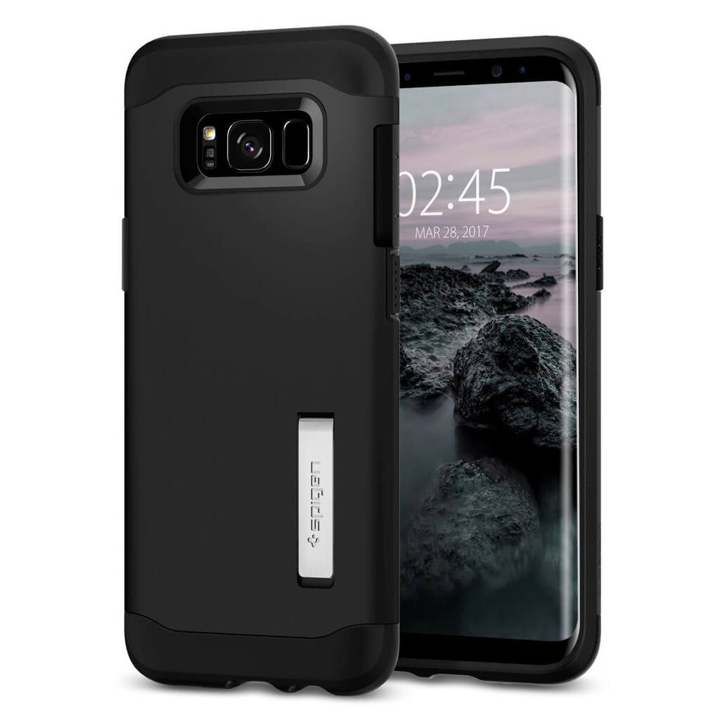 Spigen® Slim Armor™ 565CS20831 Samsung Galaxy S8 Case - Black