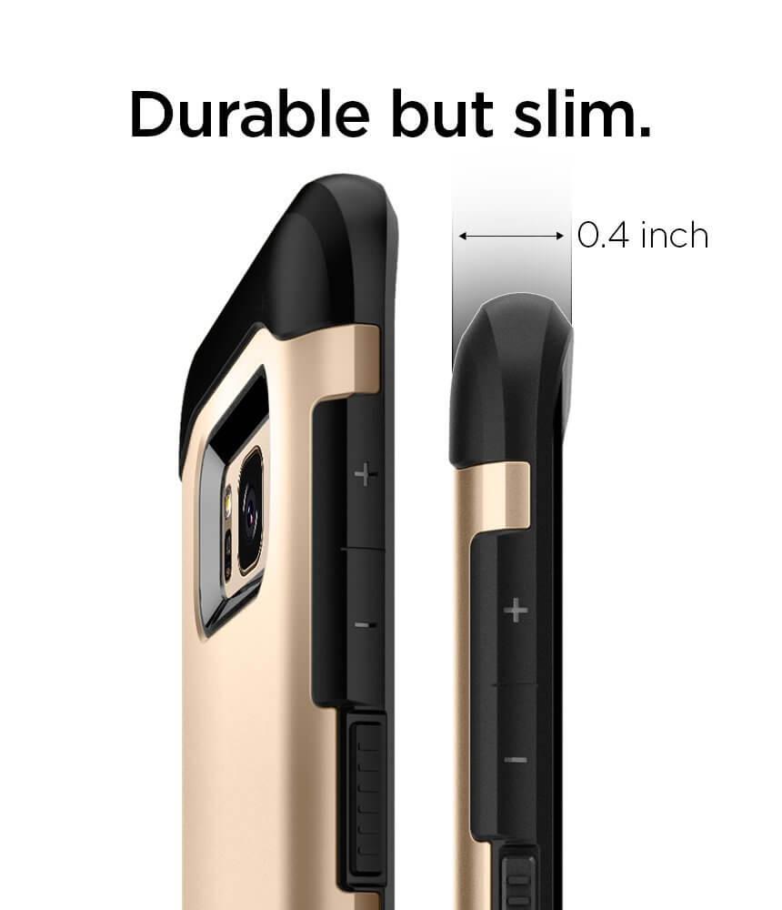 Spigen® Slim Armor™ 565CS20832 Samsung Galaxy S8 Case - Gold Maple