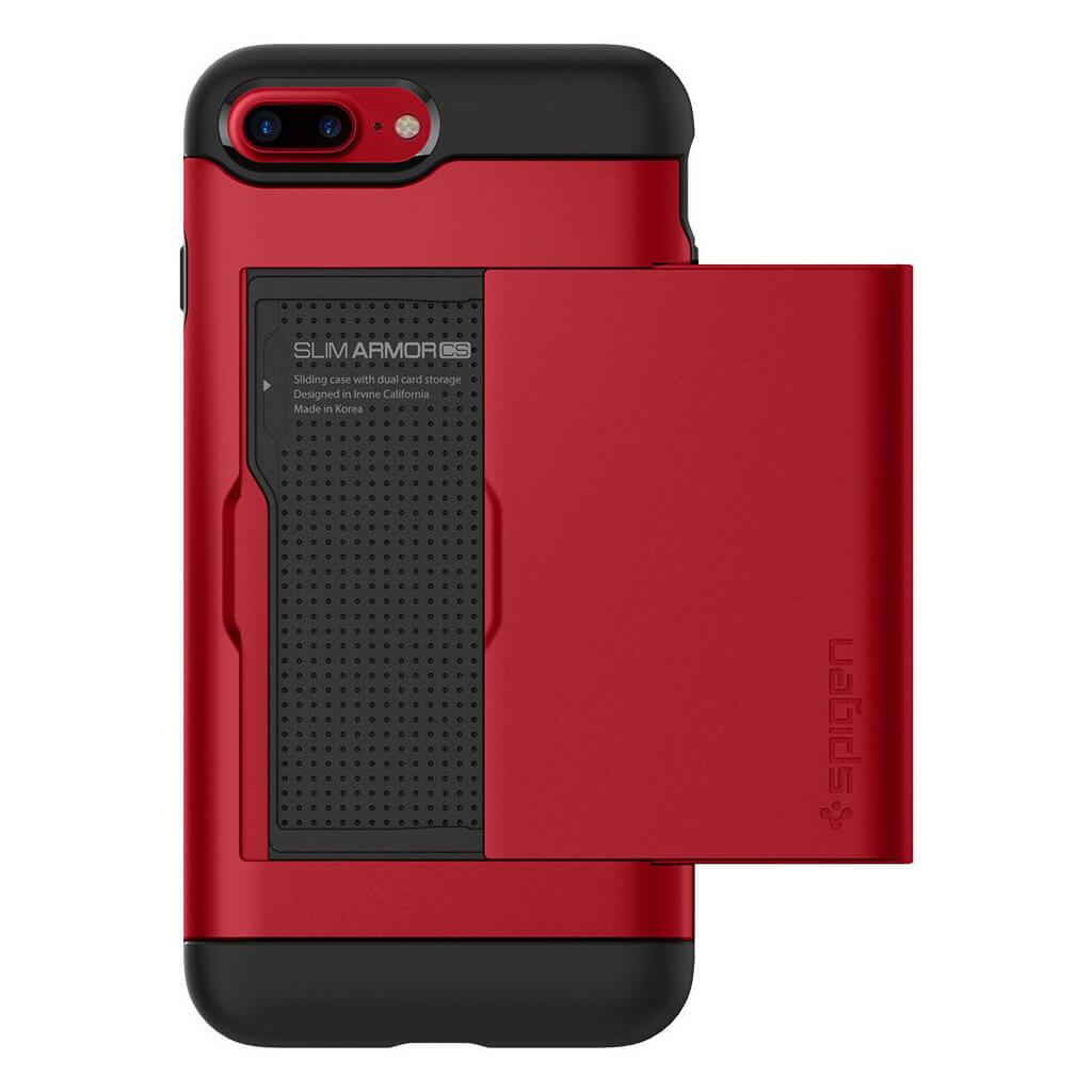 Spigen® Slim Armor CS™ 043CS21730 iPhone 7 Plus Case - Red