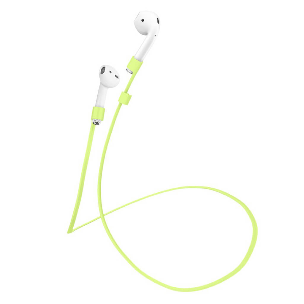 Spigen® TEKA Airpods Strap 000SD21388 Cable Connector - Neon