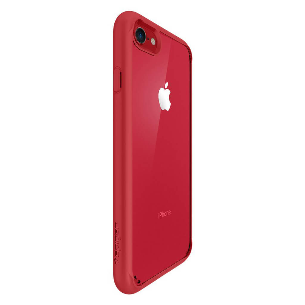 Spigen® Ultra Hybrid™ 2nd Generation 042CS21724 iPhone 7 Case - Red