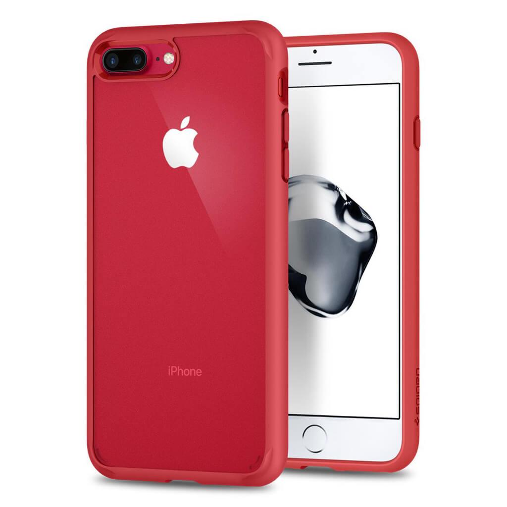 Spigen® Ultra Hybrid™ 2nd Generation 043CS21729 iPhone 7 Plus Case - Red