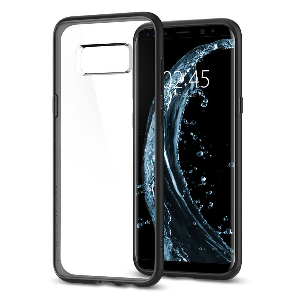 Spigen® Ultra Hybrid™ 565CS21628 Samsung Galaxy S8 Case - Matte Black