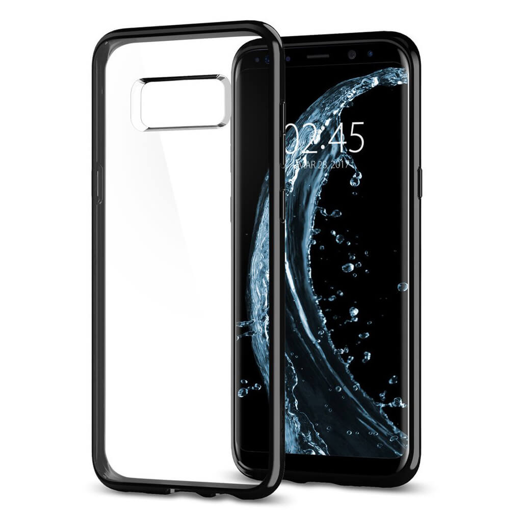 Spigen® Ultra Hybrid™ 565CS21630 Samsung Galaxy S8 Case - Midnight Black
