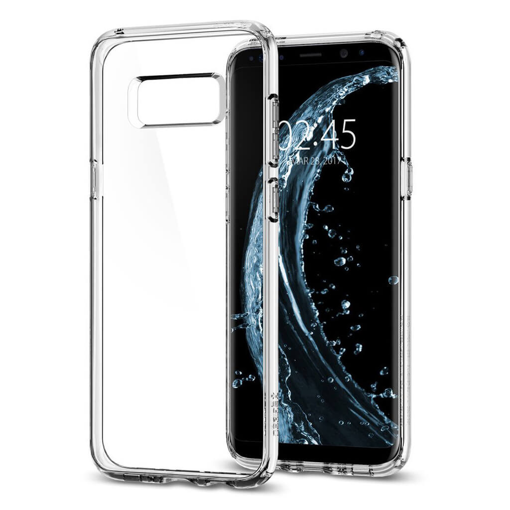 Spigen® Ultra Hybrid™ 565CS21631 Samsung Galaxy S8 Case - Crystal Clear