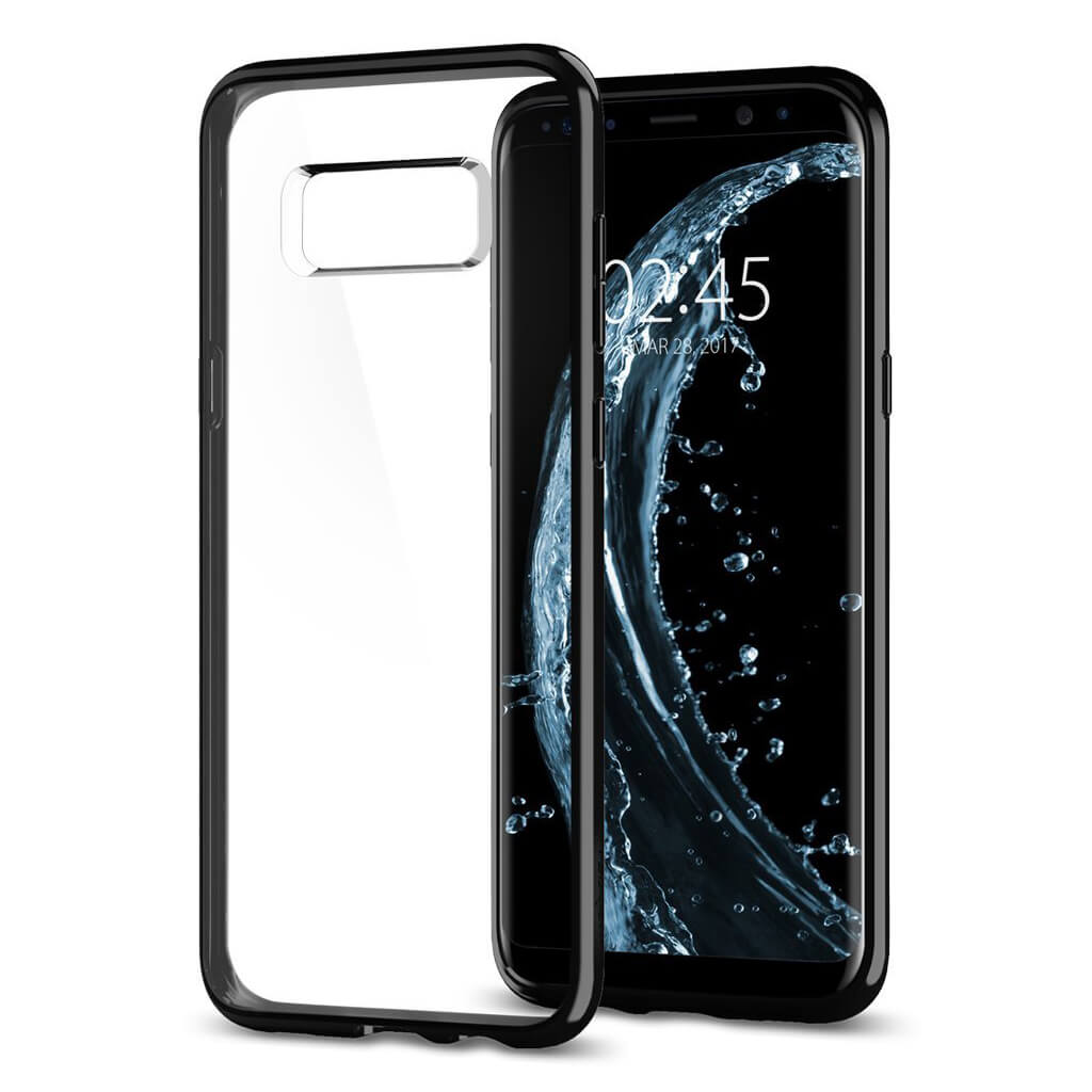 Spigen® Ultra Hybrid™ 571CS21682 Samsung Galaxy S8+ Plus Case - Midnight Black