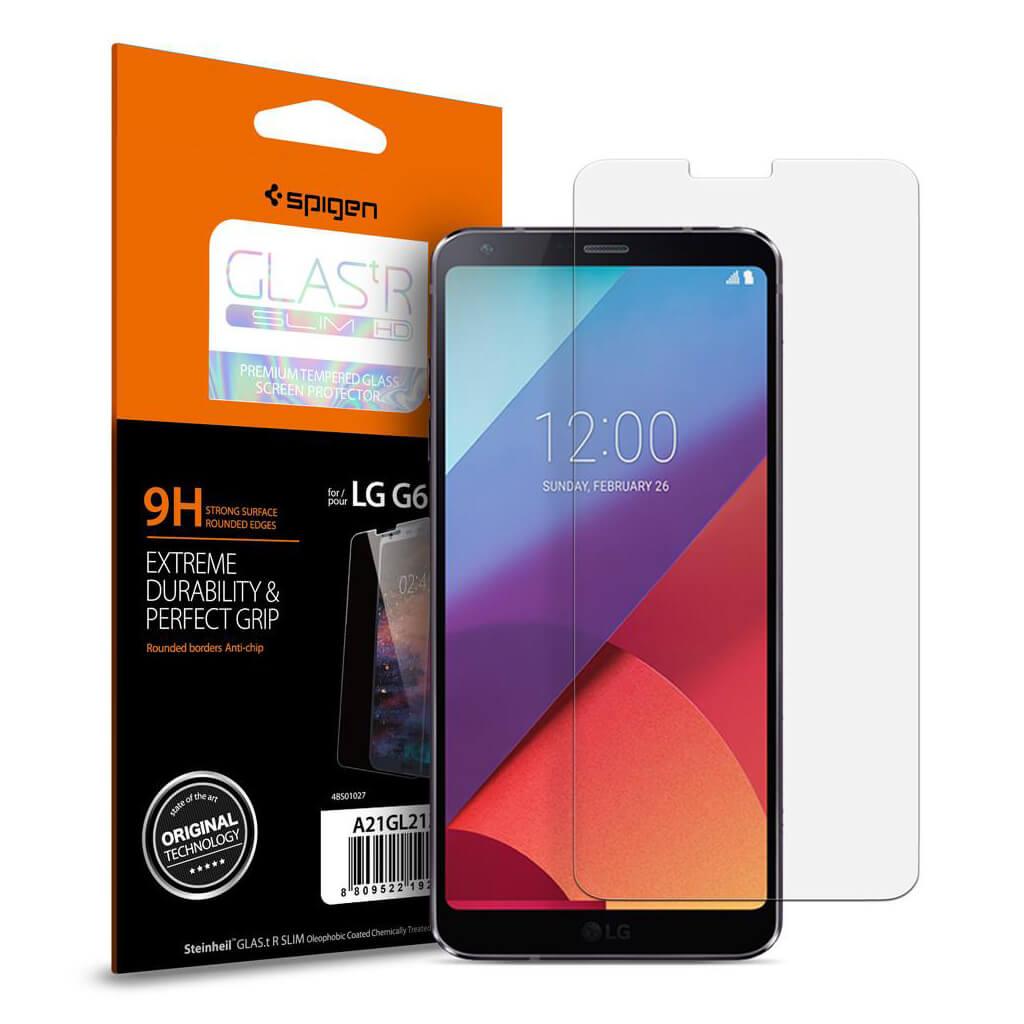 Spigen® GLAS.tR SLIM™ LG G6 Premium Tempered Glass Screen Protector