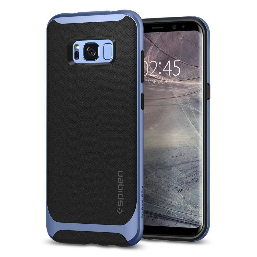 Spigen® Neo Hybrid™ 565CS21598 Samsung Galaxy S8 Case - Blue Coral