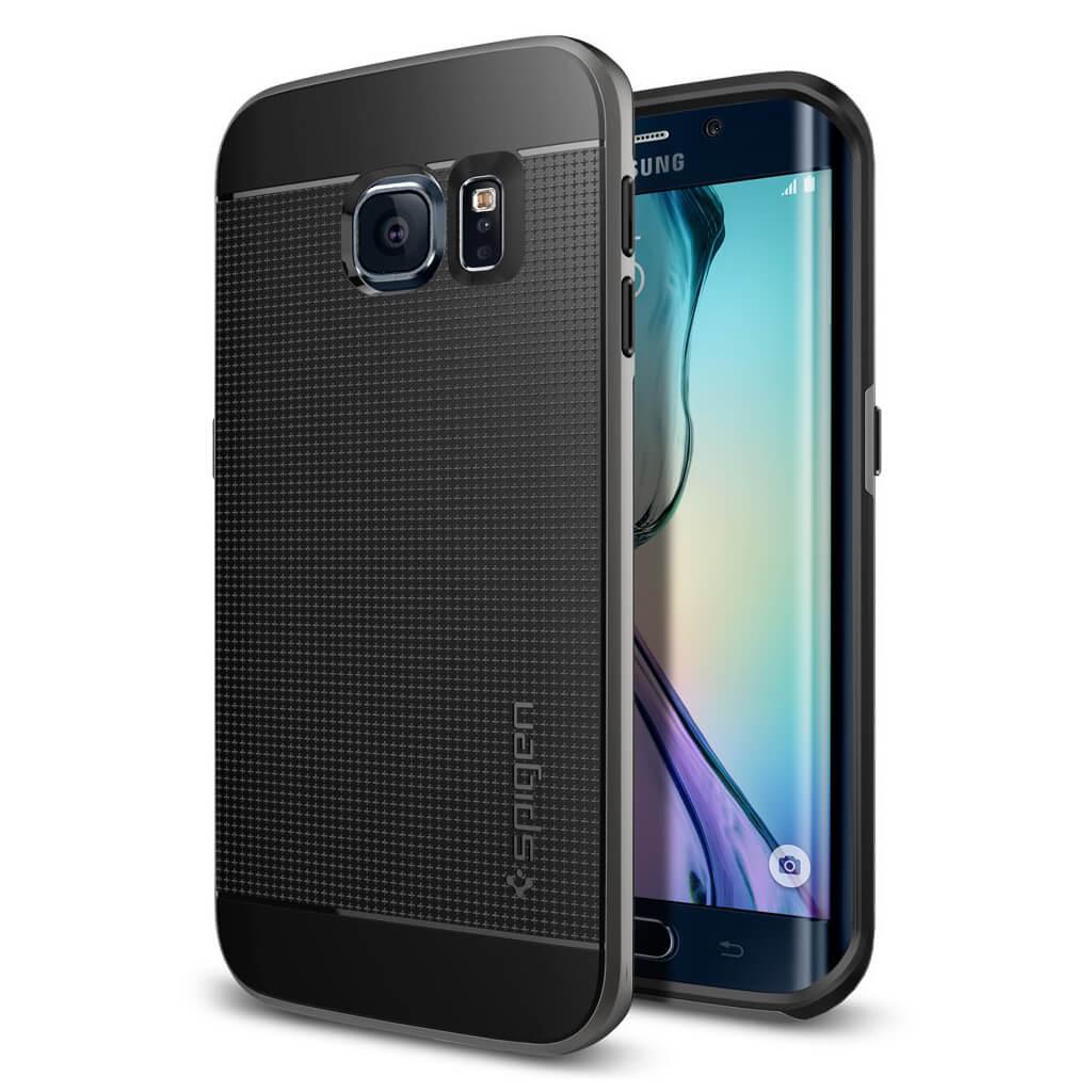 Spigen® Neo Hybrid™ SGP11422 Samsung Galaxy S6 Edge Case - Gunmetal