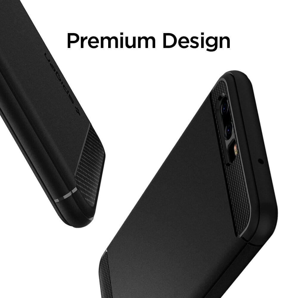 Spigen® Rugged Armor™ L13CS21504 Huawei P10 Case - Black
