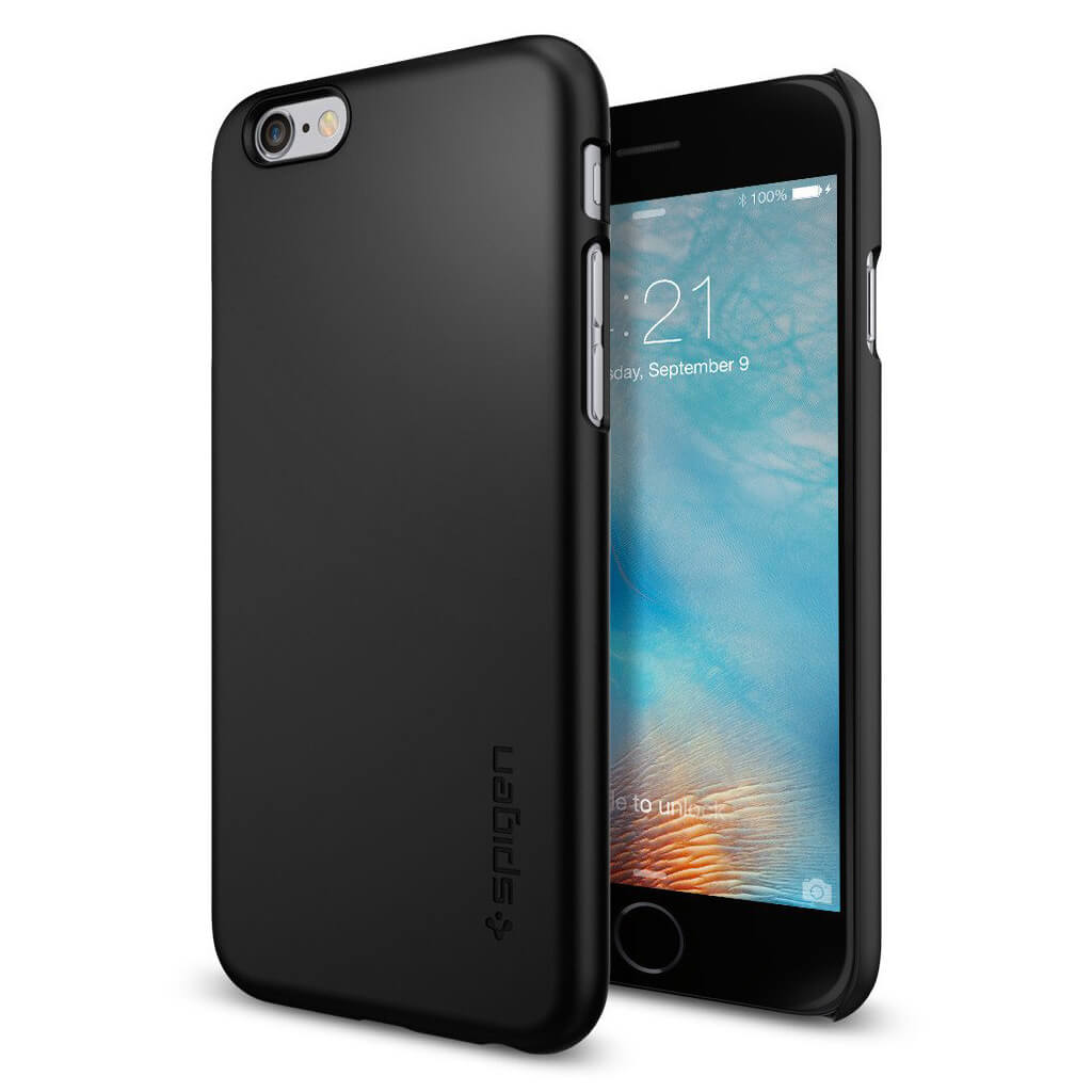 Spigen® Thin Fit™ SGP11592 iPhone 6s/6 Case - Black