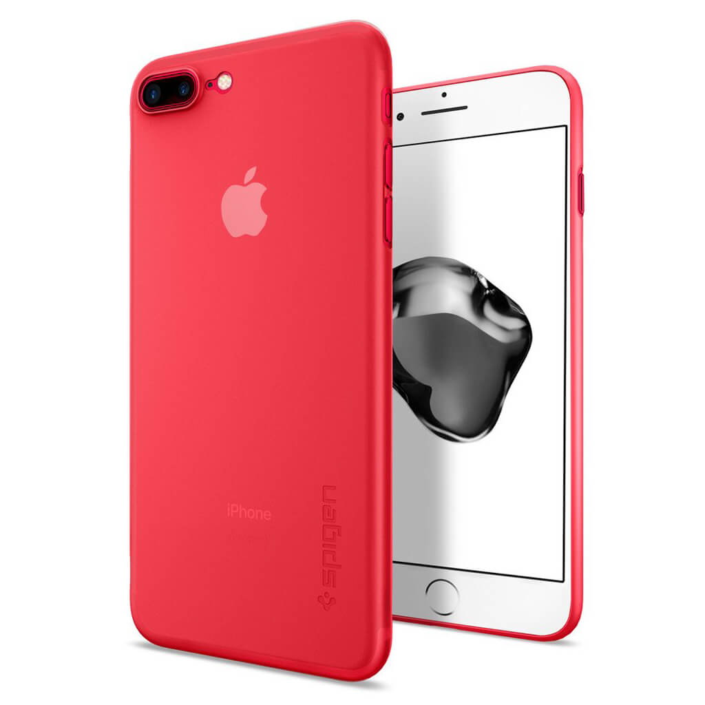 Spigen® AirSkin™ 043CS21727 iPhone 7 Plus Case - Red