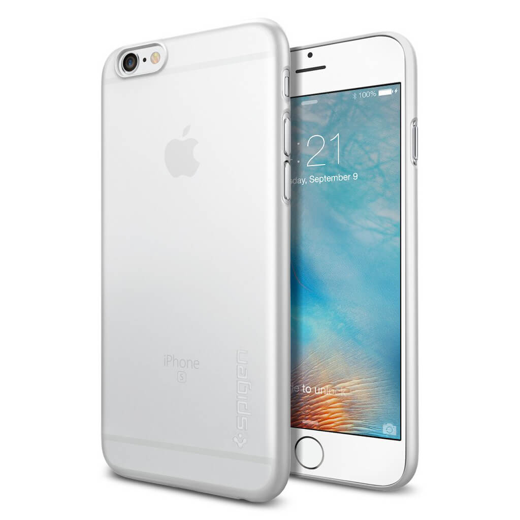 Spigen® AirSkin™ SGP11595 iPhone 6s/6 Case - Soft Clear