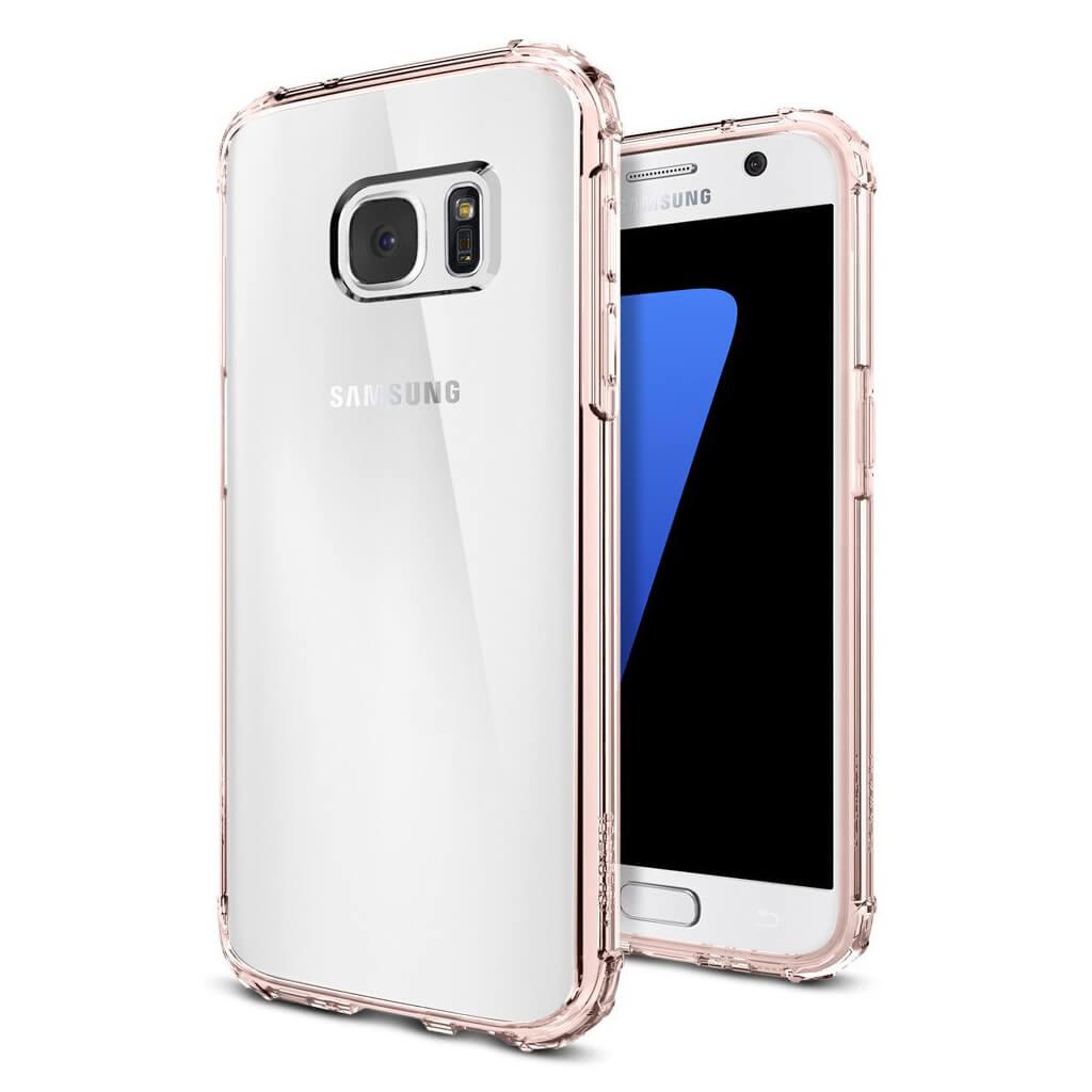 Spigen® Crystal Shell™ 555CS20099 Samsung Galaxy S7 Case - Rose Crystal