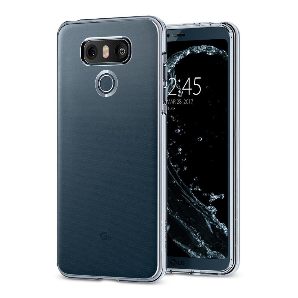 Spigen® Liquid Crystal™ A21CS21229 LG G6 Case - Crystal Clear
